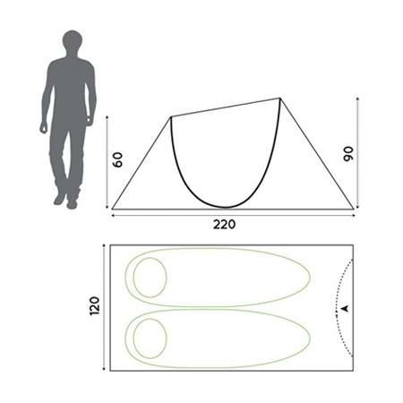 Pop Up Tent dimensions