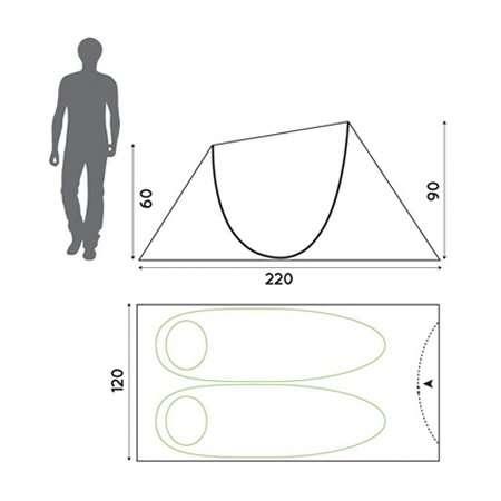 Pop Up Tent dimensions