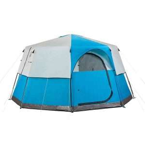 coleman octagon 8-person outdoor tent