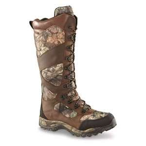 guide gear men's pursuit ii 16 waterproof side-zip snake boots