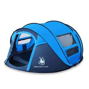 hui lingyang outdoor instant 4-person pop up dome tent