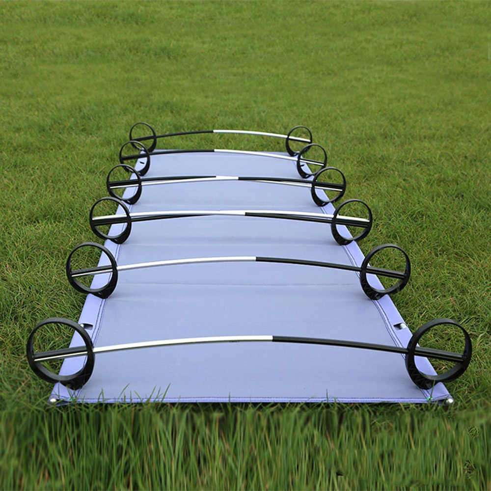 upturned Camping Cot