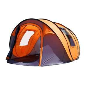 oileus pop up tents camping 4 to 6 person tent sky