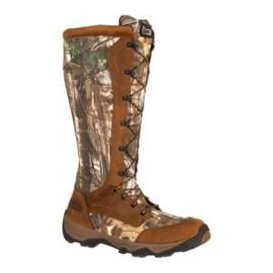 rocky retraction mens camo waterproof lace up snake boots