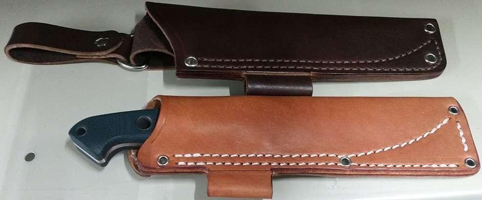 Benchmade BUSHCRAFTER sheath options