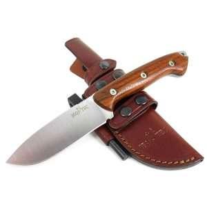 jeo-tec bushcraft survival hunting knife