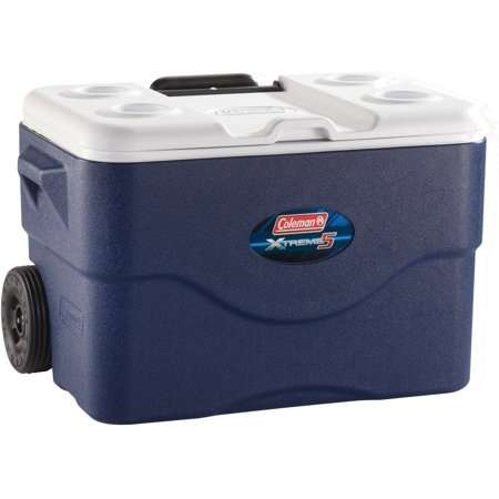 Coleman 50-Quart Xtreme 5-Day Cooler with Wheels