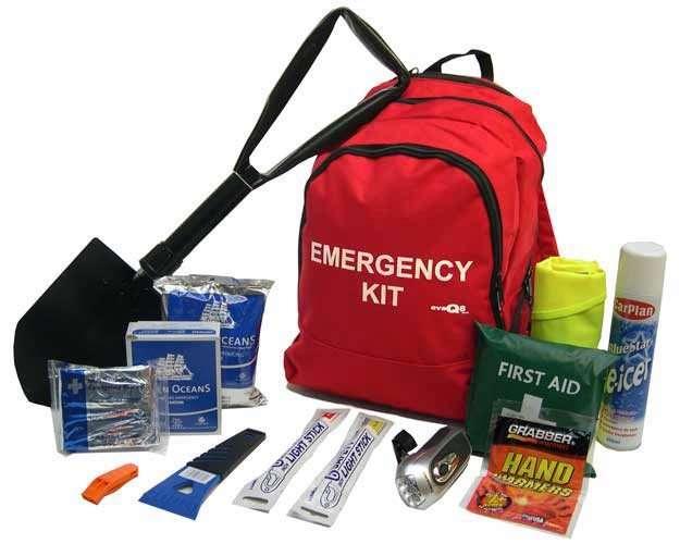 Emergency Winter Vehicle Survival Kit