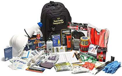 Emergency Zone THE ESSENTIALS Complete Deluxe 72-Hour Kit
