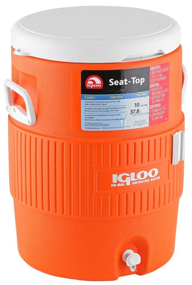Igloo 5 Gallon Seat Beverage spigot