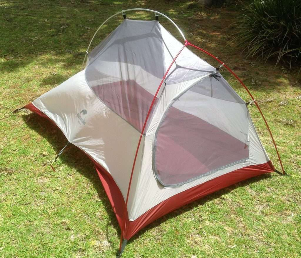 Naturehike CLOUD-UP Ultralight 4 Season 2 Person Backpacking Tent