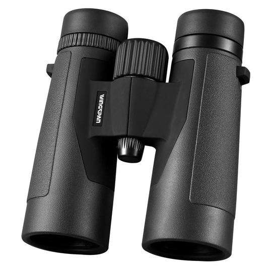 Wingspan Optics VOYAGER 10×42 High Powered Binoculars for Bird Watching