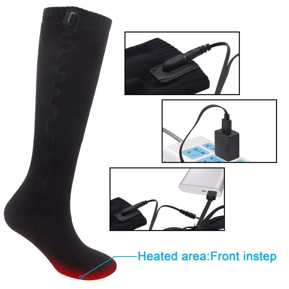 charging electric socks