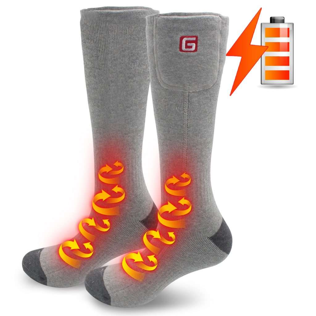 work electric socks