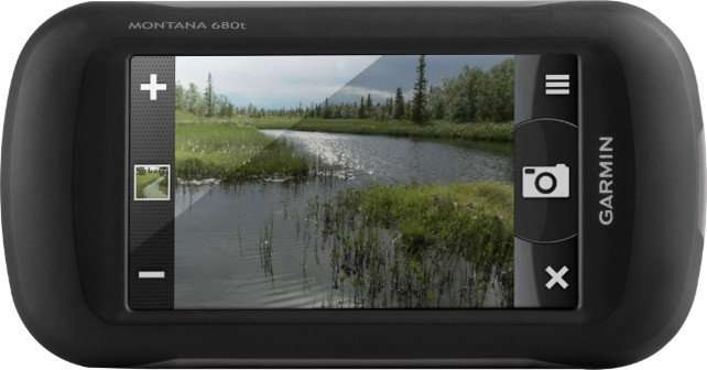 handheld GPS with camera