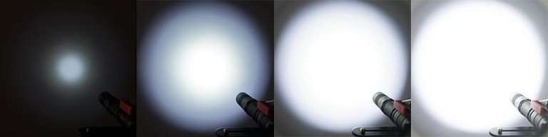 flashlight lumen