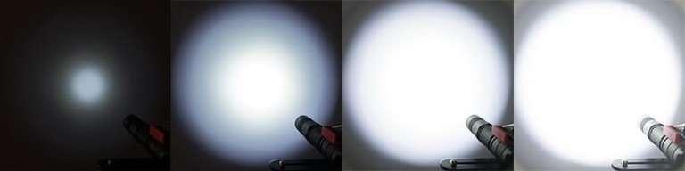 flashlight lumen