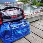 two Duffel bags