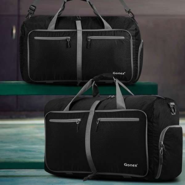 GONEX 60 L Travel Duffel Bag w/ Show Compartment