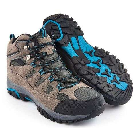 NORTIV 8 Men's Ankle High Waterproof Backpacking Boots