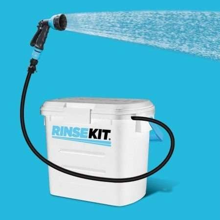 RINSE KIT Pressurized Portable Shower