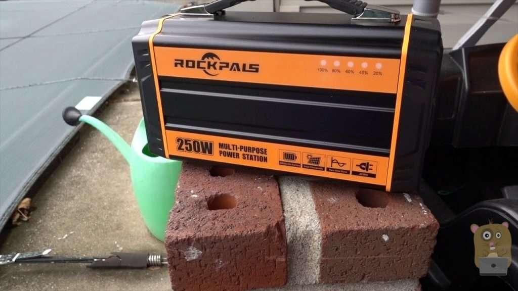 ROCKPALS 250-Watt Portable Rechargeable Generator