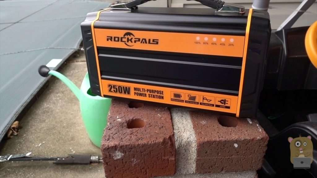 ROCKPALS 250-Watt Portable Rechargeable Generator