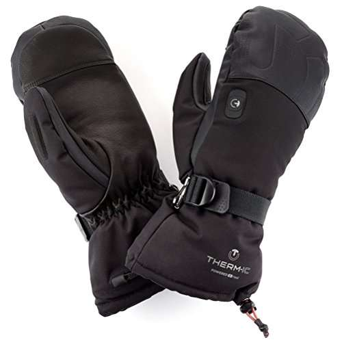 SNOW DEER Heated Mittens w/ Electric Rechargeable Battery