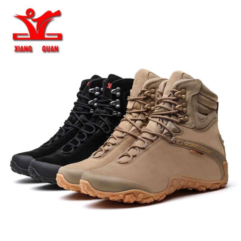 XIANG GUAN Men's Outdoor High-Top Waterproof Winter Snow / Hiking Boots