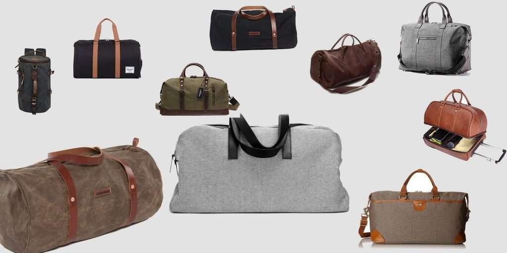 many duffel bags