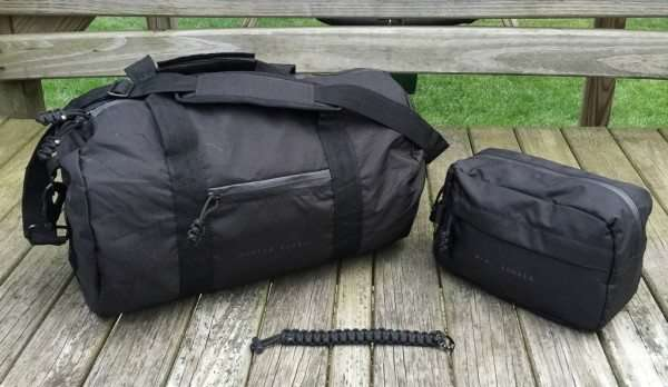 two duffel bags