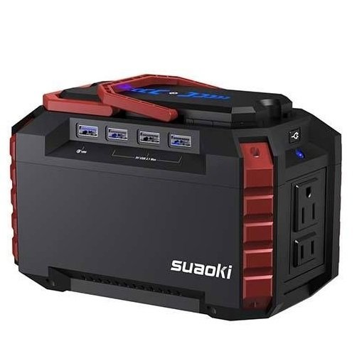 SUAOKI Portable Power Station 150Wh Camping Generator