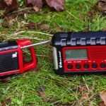 two radios in nature