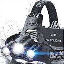COBIZ Brightest High 6000 Lumen LED Work Headlight for Camping