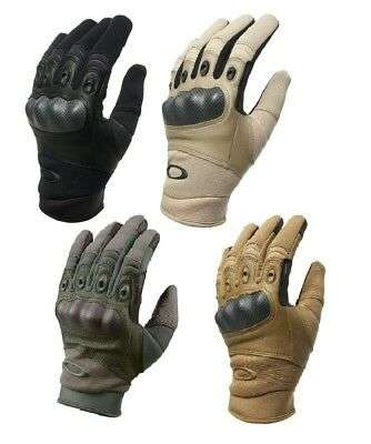 FREETOO Tactical Gloves Military Police Glove w/ Rubber Knuckle