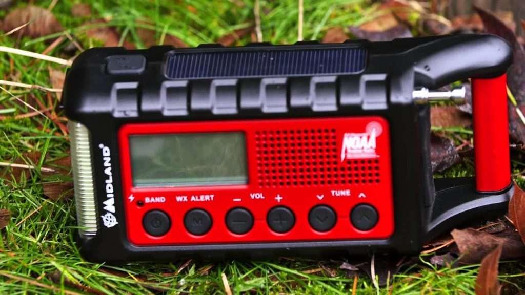 Midland ER310 Emergency Crank Weather AM / FM Radio