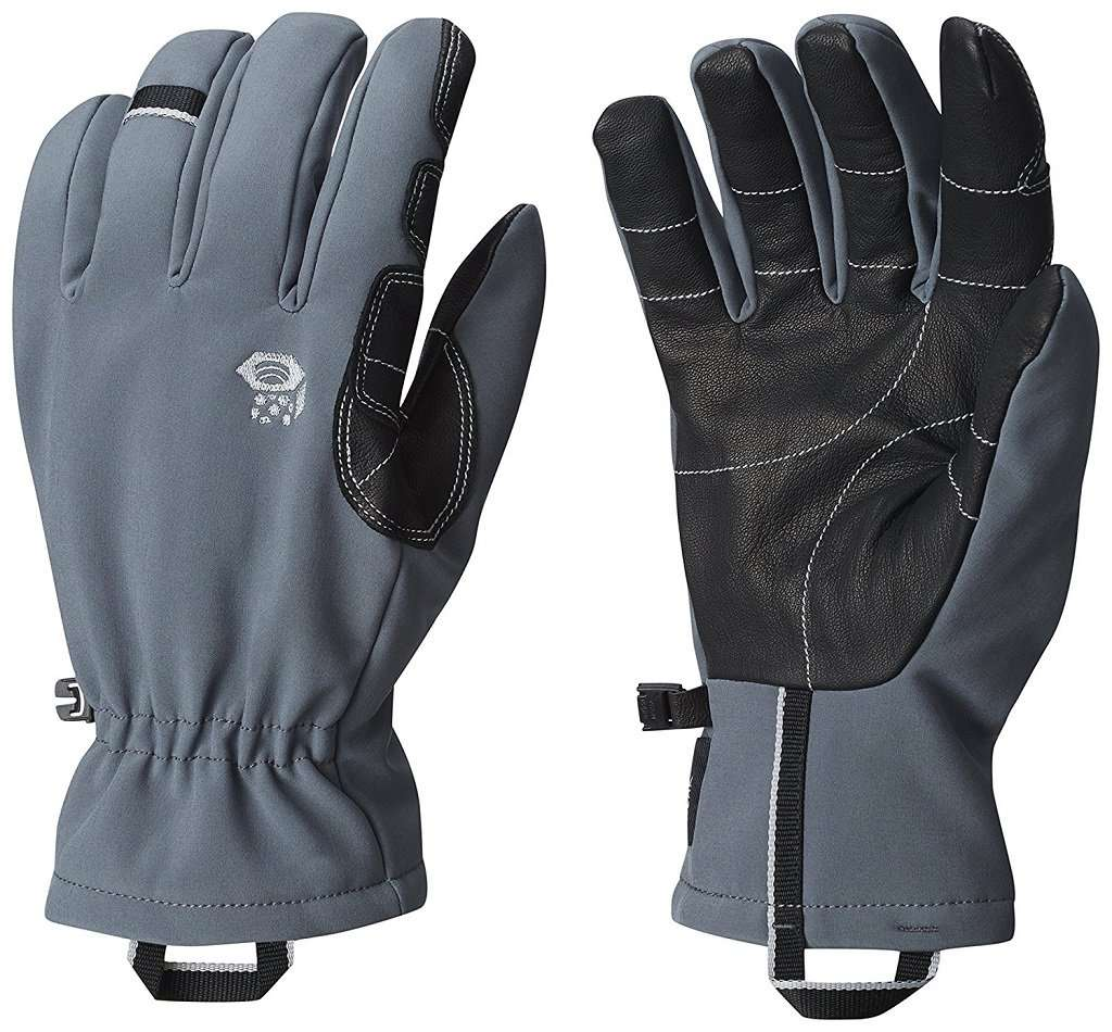 walking gloves with palm pads