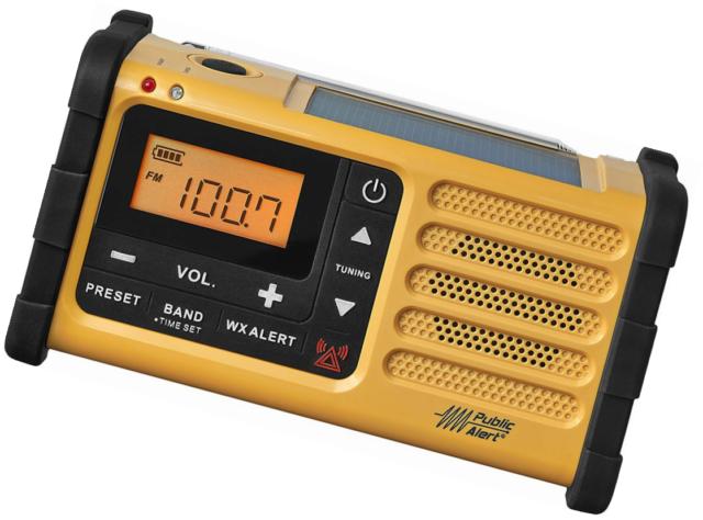 Sangean MMR-88 AM/FM/Weather Alert Emergency Radio