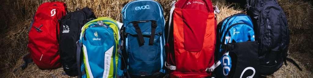 many MTB backpacks