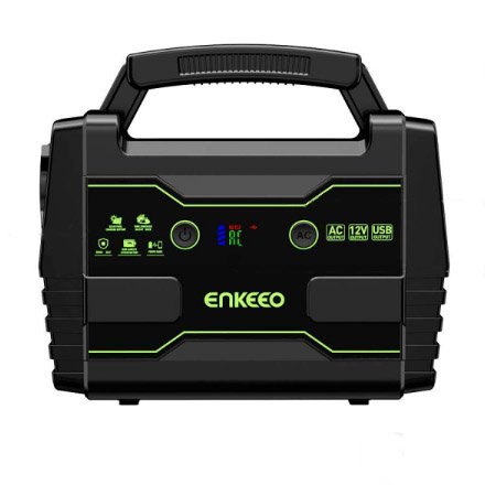 ENKEEO Portable Power Station 155Wh Lithium Battery Supply Electric Generator