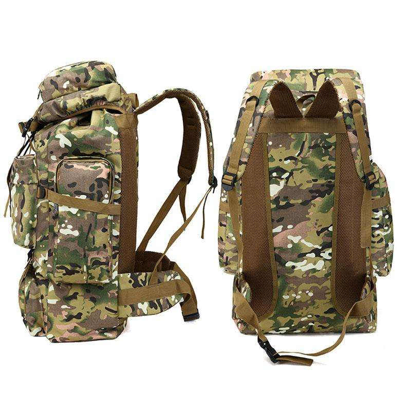 collected backpack for hunting