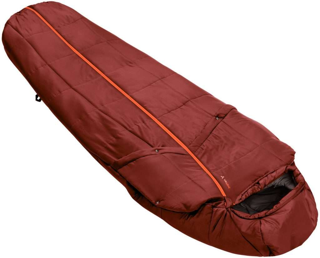 BLACK ORCA WILD FORTRESS Ultralight Mummy Down Sleeping Bag