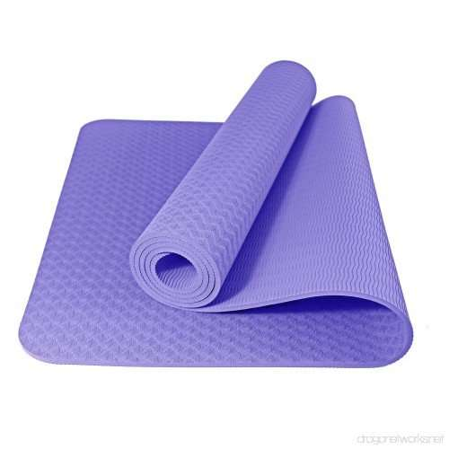 """DYNACTIVE Yoga Mat ¼"""" Thick"""