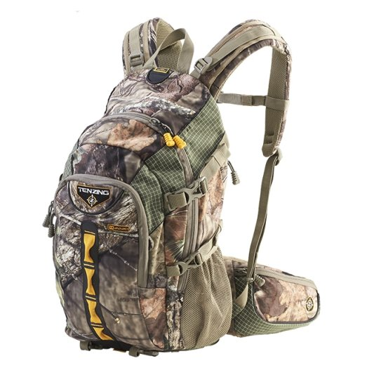 TENZING 2220 Daypack with Firearm Carry Boot & Rain Cover