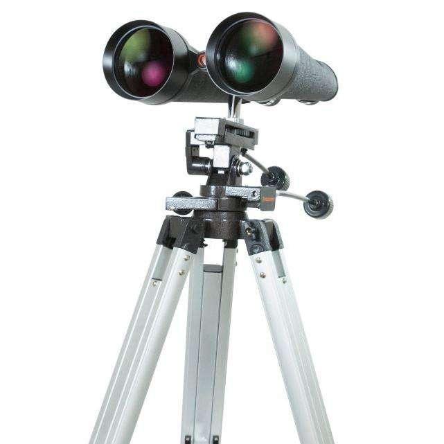 binoculars on a tripod