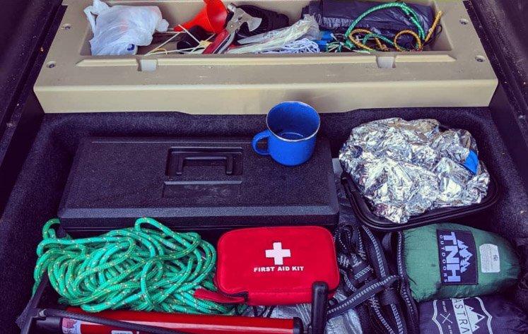 essentials car camping