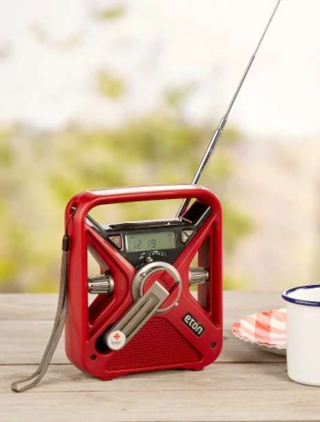 American Red Cross Hand Crank Emergency Radio