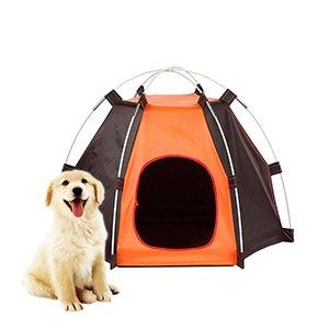 SUNNYBLUE Pet House Detachable Portable Waterproof Dog Tent