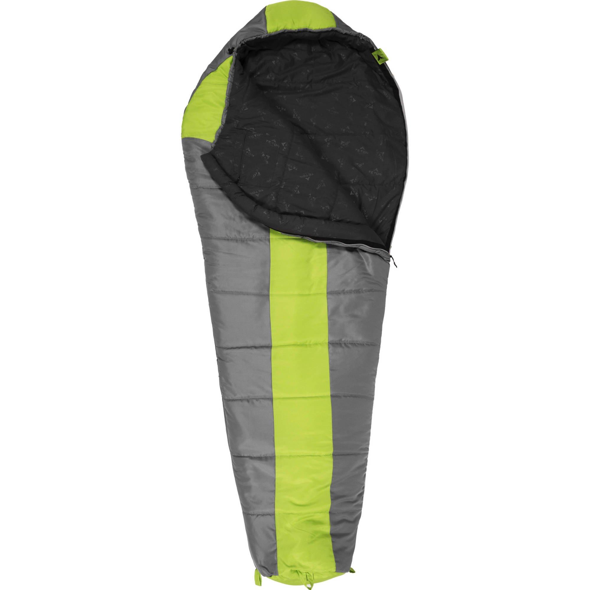 TETON Sports Tracker 5 Lightweight Mummy Sleeping Bag