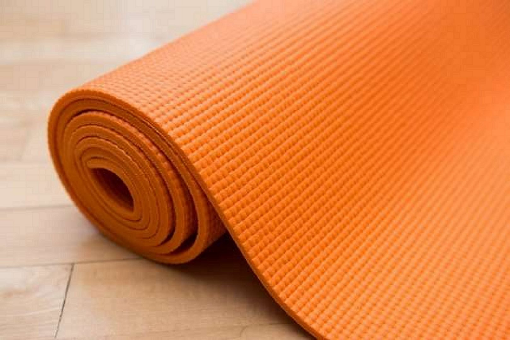 6mm Yoga Mat, orange